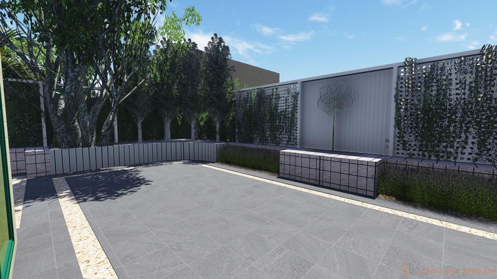 Landscape design 3d portfolio landscape brisbane for Landscape architect brisbane