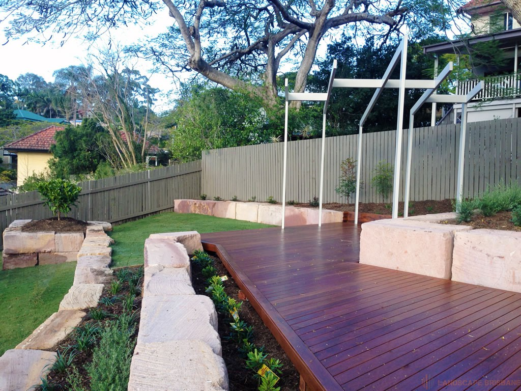 Landscaping Garden Brisbane : Landscape holland park recent brisbane project