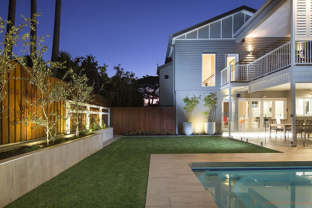 Landscape construction portfolio landscape brisbane for Pool design brisbane