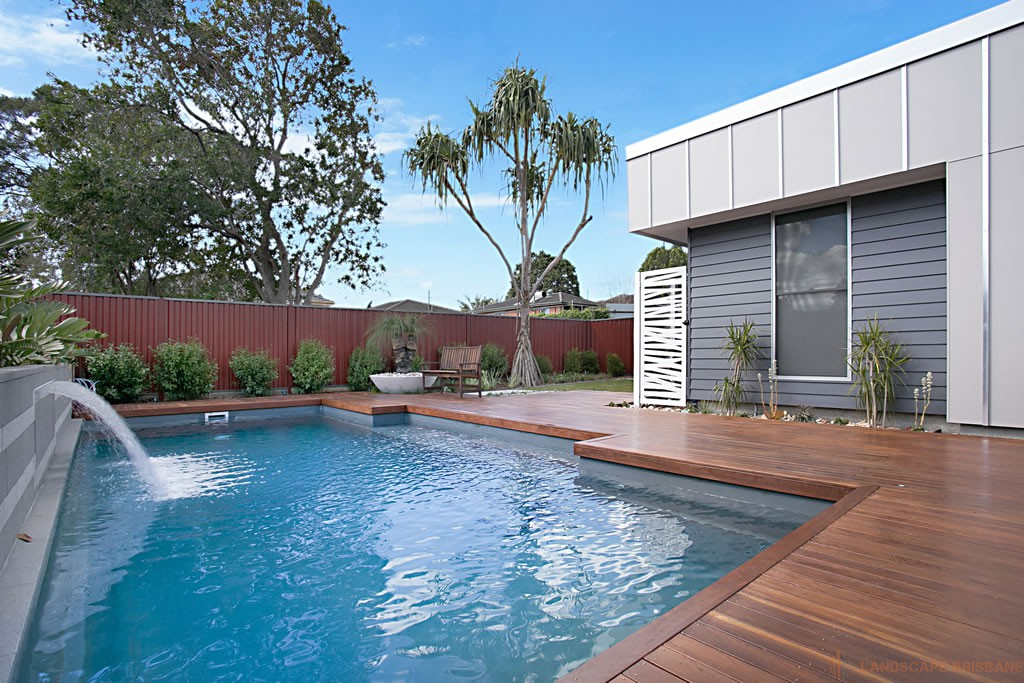 Pool building added to services landscape brisbane for Pool design brisbane