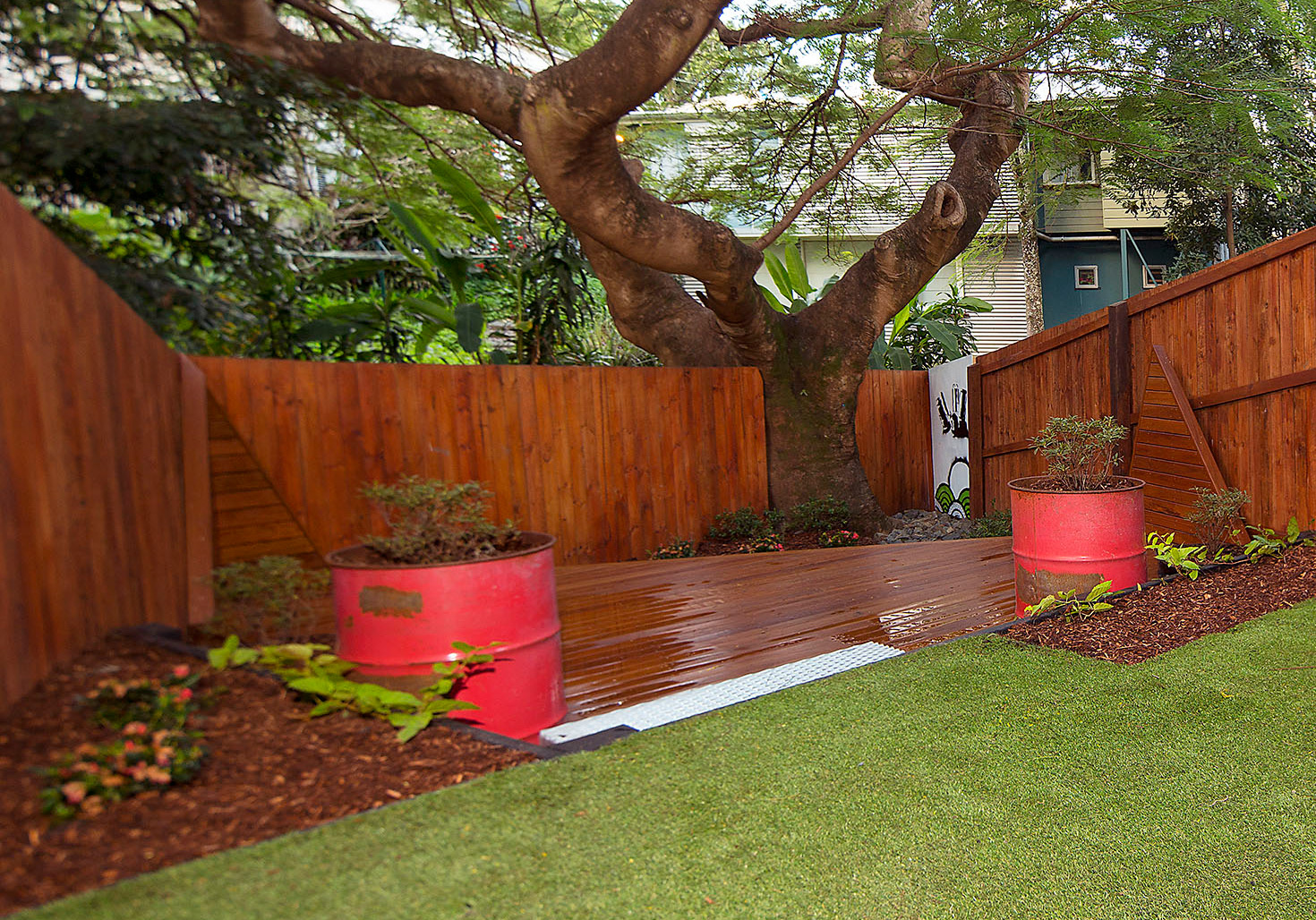 Landscaping Garden Brisbane : Hendra brisbane landscape mt gravatt an effective garden make