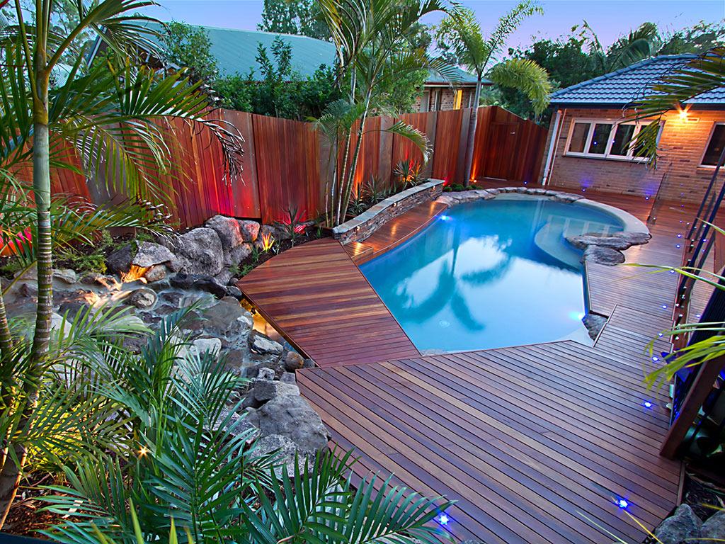 Pools surrounds may landscape brisbane for Landscape design jobs brisbane